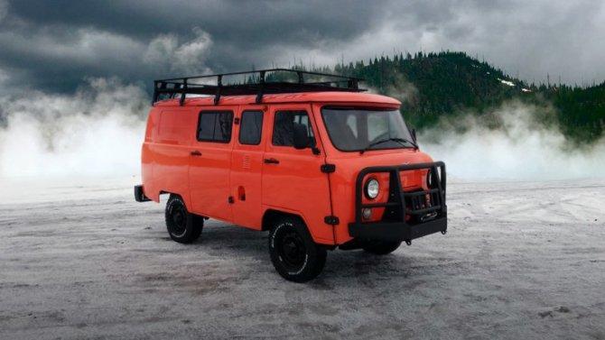 УАЗ подготовил экспедиционную «Буханку»