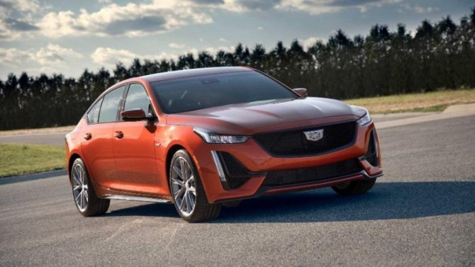 Известны цены нового Cadillac CT5-V
