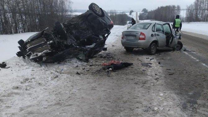 Женщина погибла в ДТП в Мишкинском районе Башкирии