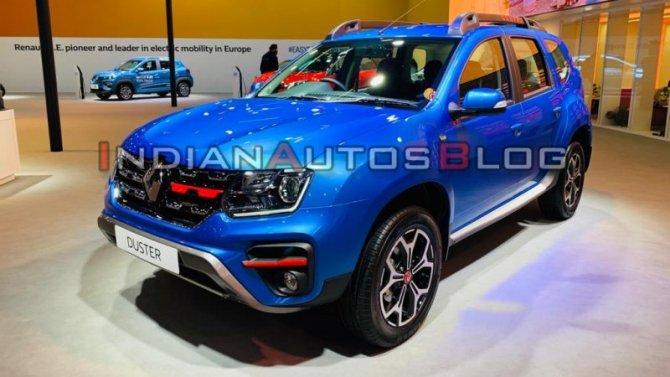 Auto Expo 2020: Renault Duster обзавёлся новым мотором