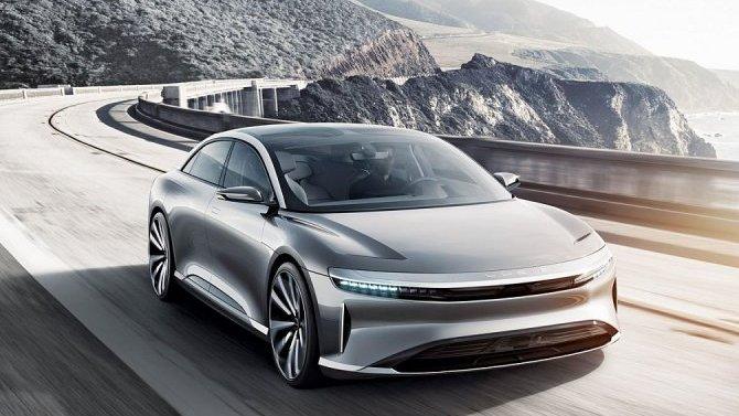ВСША представлен новый электромобиль