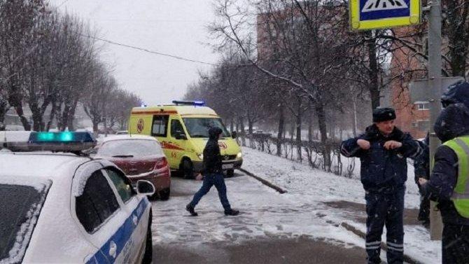 В Туле иномарка сбила трех пешеходов