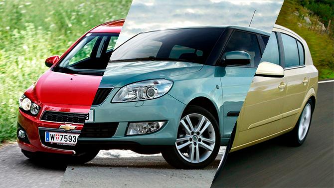 Топ-3 городских автомобилей, доступных навторичном рынке за350 тыс. рублей