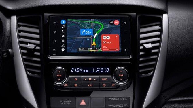 Mitsubishi Outlander иPajero Sport вбазовом оснащении получат «Яндекс.Авто»