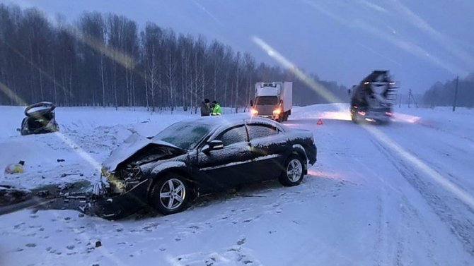 Ребенок погиб в ДТП в Томской области