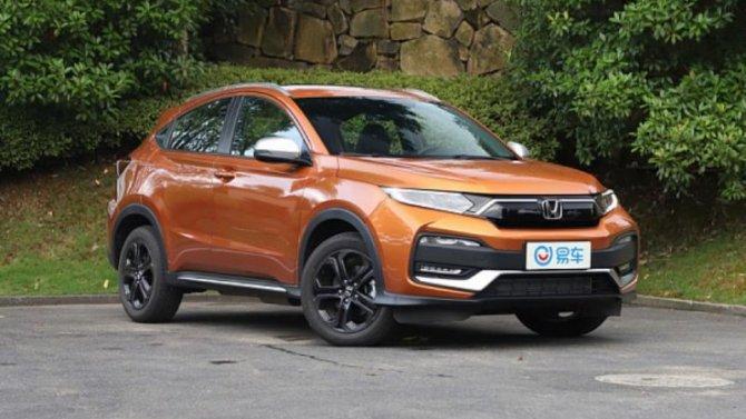 Стартовали продажи обновлённого кроссовера Honda XR-V