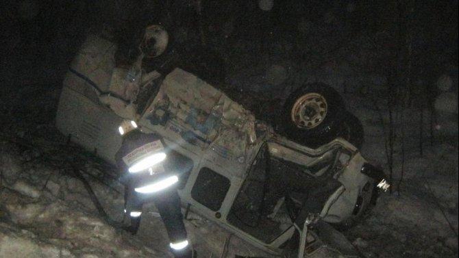 Шесть человек пострадали в ДТП в Карелии