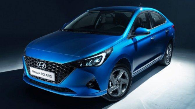 Известны российские цены нового Hyundai Solaris