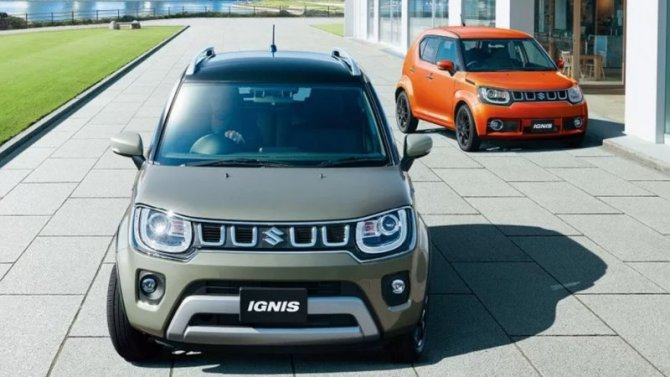 Представлен рестайлинговый Suzuki Ignis