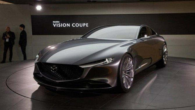 Mazda запатентовала новые мотор иКПП