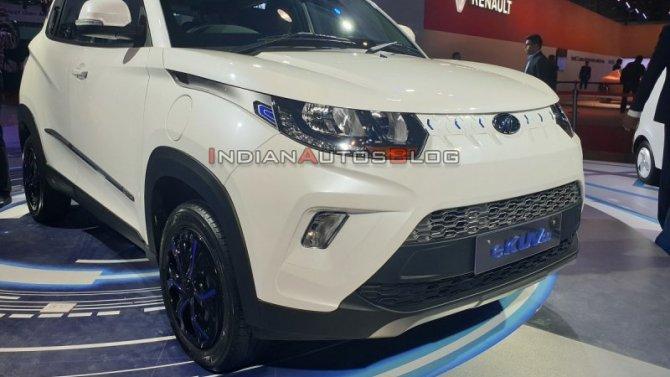 Auto Expo 2020: Mahindra представила очень дешёвый электромобиль