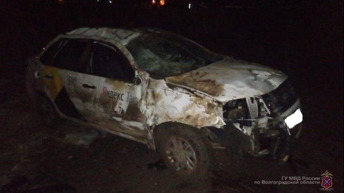 Таксист погиб в ДТП в Волжске