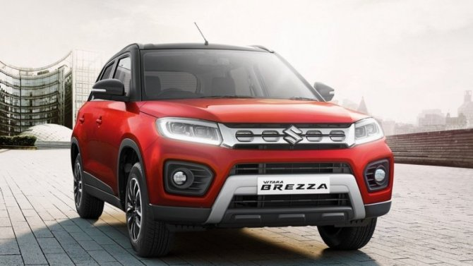 Auto Expo 2020: представлен обновлённый кроссовер Suzuki Vitara Brezza