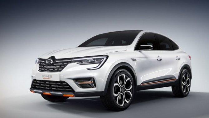 Renault Arkana будет выпускаться вЮжной Корее