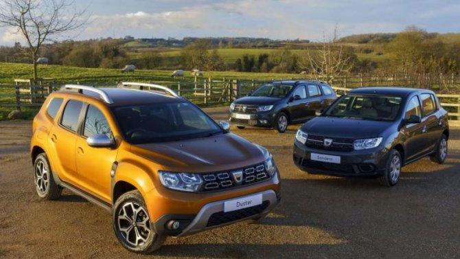 Три модели Dacia получили битопливные версии