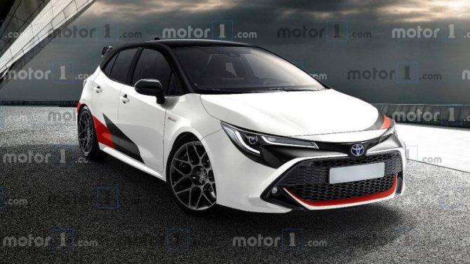 Toyota Corolla станет «горячей»