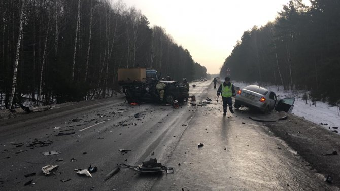 Два человека погибли в ДТП в Башкирии (2)