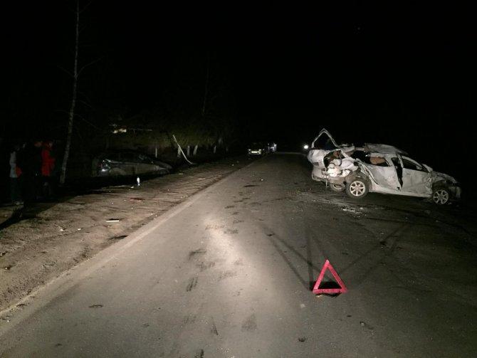 Мужчина погиб в тройном ДТП в Орловской области (2)