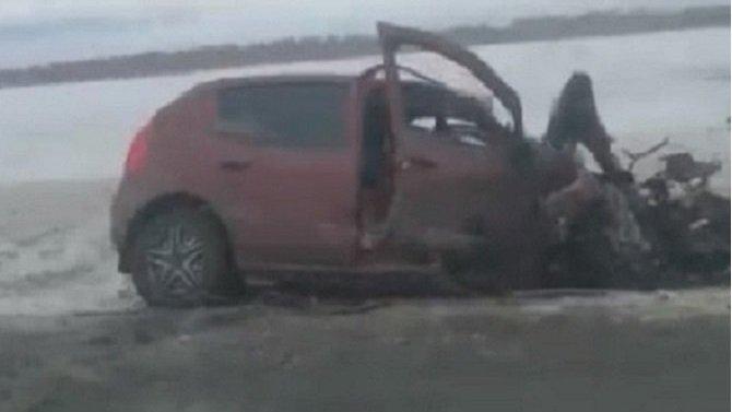 Две женщины погибли в ДТП в Алтайском крае