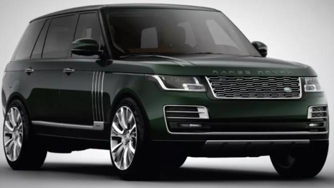 Range Rover стал «оруженосцем»