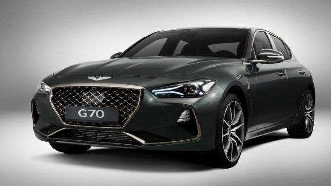 Российская версия Genesis G70: прибавлена одна комплектация