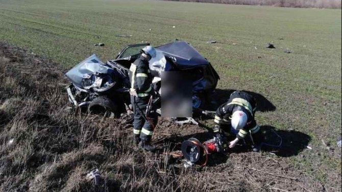 В ДТП под Орлом погибли оба водителя