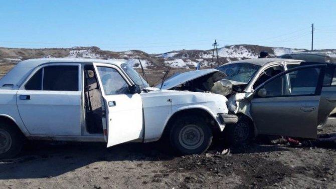 Три человека погибли в ДТП в Кызыле
