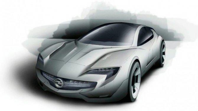 Opel Manta может возродиться
