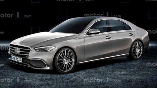 Новый Mercedes-Benz S-Кlassе: появились любопытные подробности