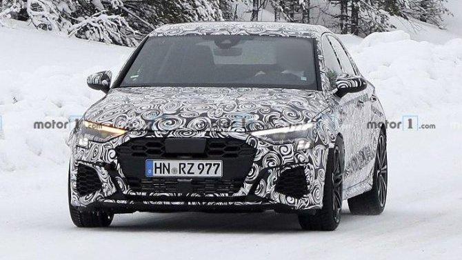 Обновился спорт-седан Audi RS3