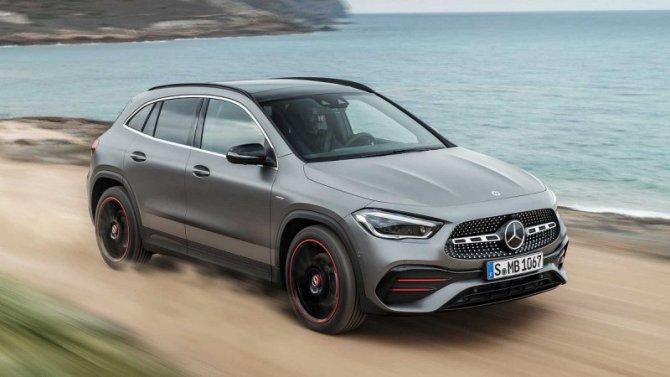 ВРоссии начались продажи нового Mercedes-Benz GLA