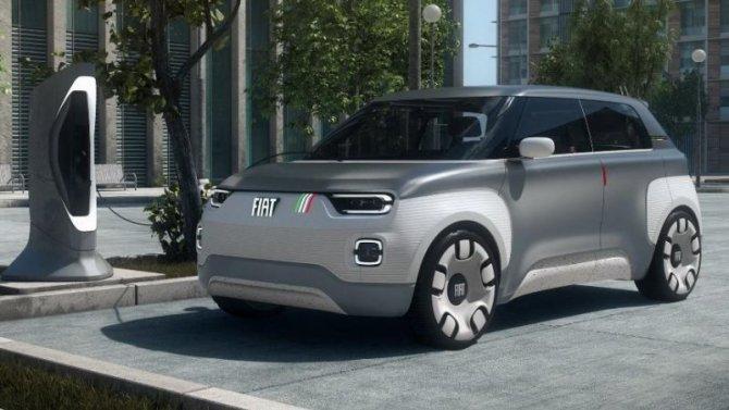 Электромобиль FIAT Centoventi пойдёт впроизводство