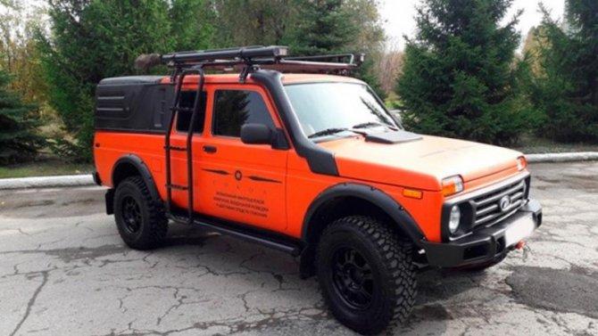 ВТольятти создан новый спасательный автомобиль