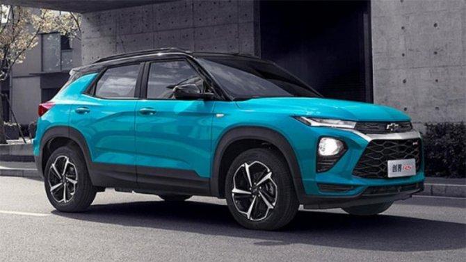 Chevrolet Trailblazer получил новую версию исполнения