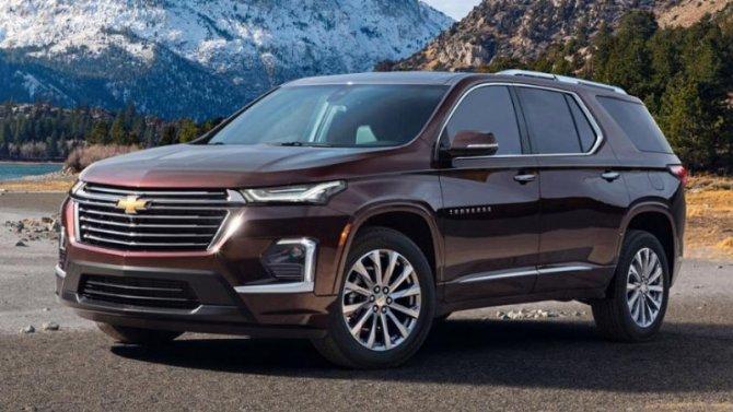 Новый Chevrolet Traverse: многое стало известно