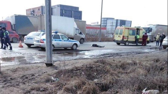 В Рязани насмерть сбили девушку