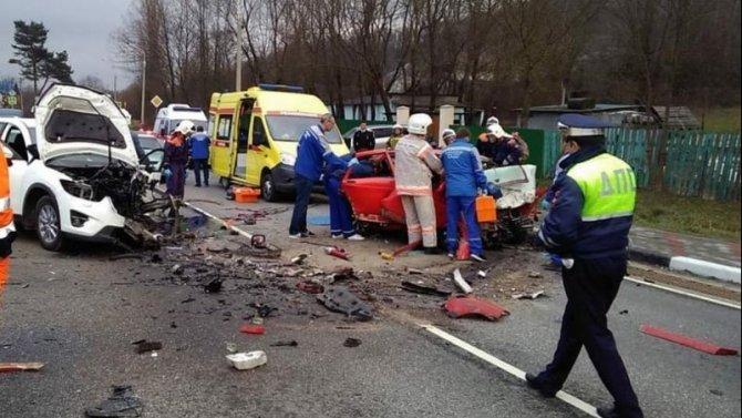 Три человека погибли в ДТП под Геленджиком