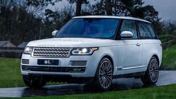 Range Rover получил эксклюзивное исполнение