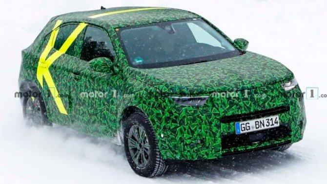 Opel начал тесты нового кроссовера