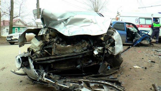 В ДТП в Калуге погиб человек