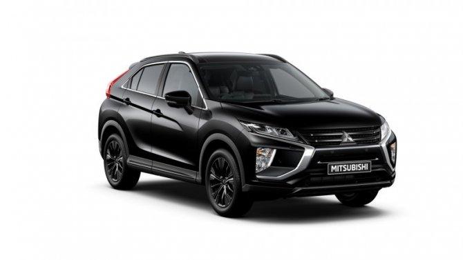 ВРоссии начались продажи новой версии Mitsubishi Eclipse Cross