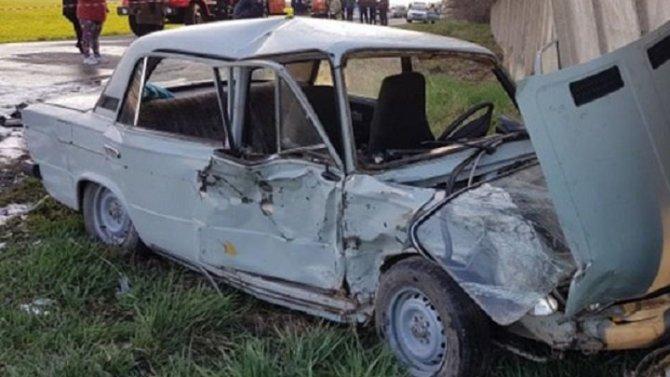 Трое детей пострадали в ДТП на Кубани