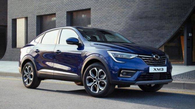 Корейская версия Renault Arkana вызвала ажиотаж