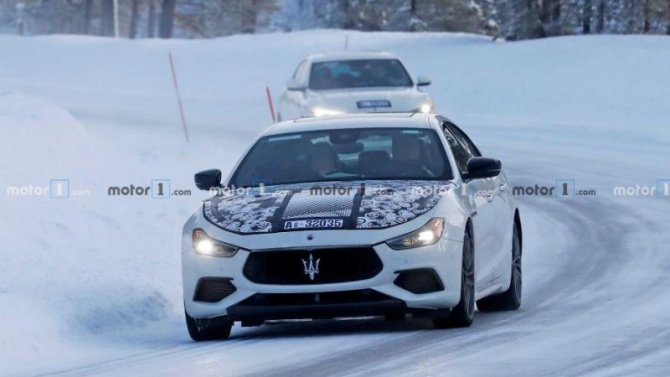 Обновлён седан Maserati Ghibli
