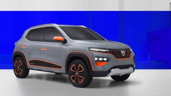 Dacia представила компактный электромобиль