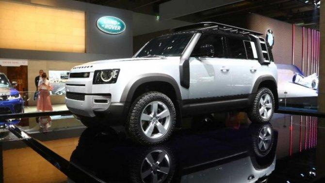 Land Rover Defender уменьшится вразмерах