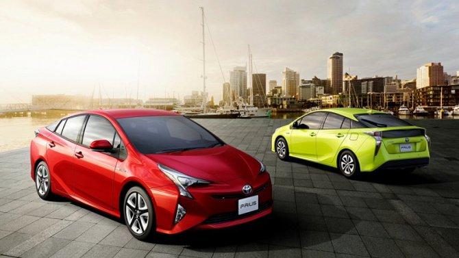 Объявлен отзыв Toyota Prius