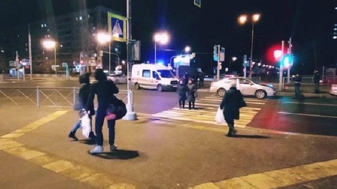 В Петербурге насмерть сбили мужчину