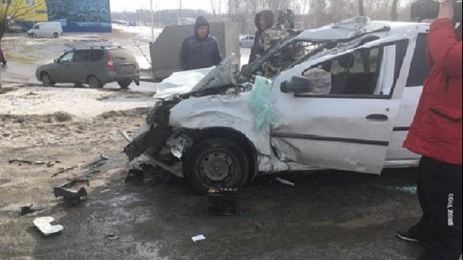 Водитель иномарки погиб в ДТП в Набережных Челнах