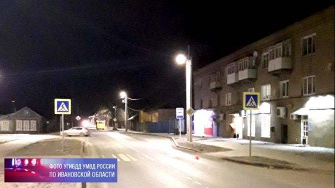 В Иванове автомобиль сбил девушку, водитель скрылся